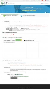 WoSign - Bestellung Free SSL Zertifikat